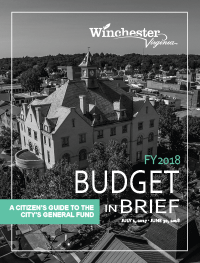 FY18 Budget in Brief booklet