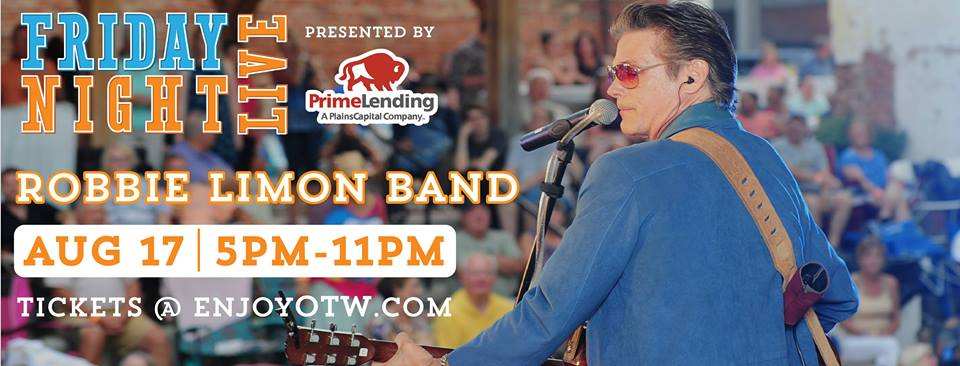 Robbie Limon Band web banner