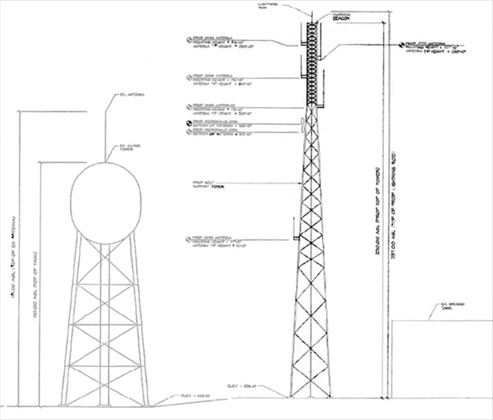 Proposed Public Safety Communications Tower City Of
