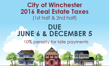 Real estate tax 2016 due dates