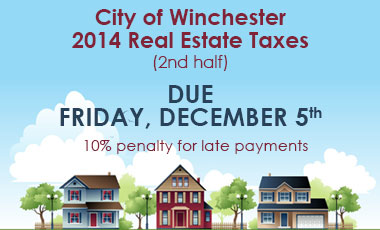 2nd half real estate taxes due dec 5th