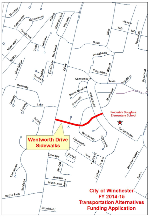 Wentworth Drive Map
