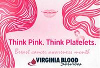 Blood Drive for Breast Cancer Awareness Month