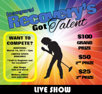 Recovery's Got Talent Live Show