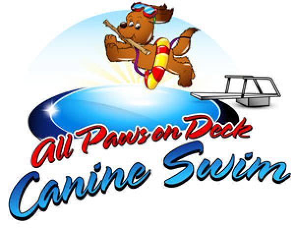 Canine Swim logo