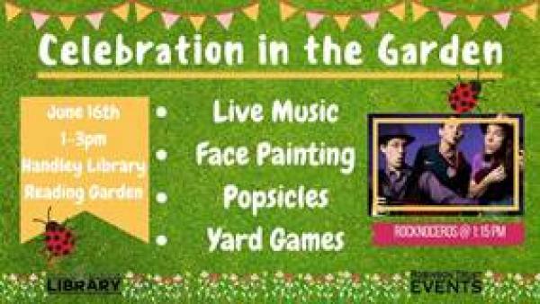 Handley Regional Library summer celebration event ad